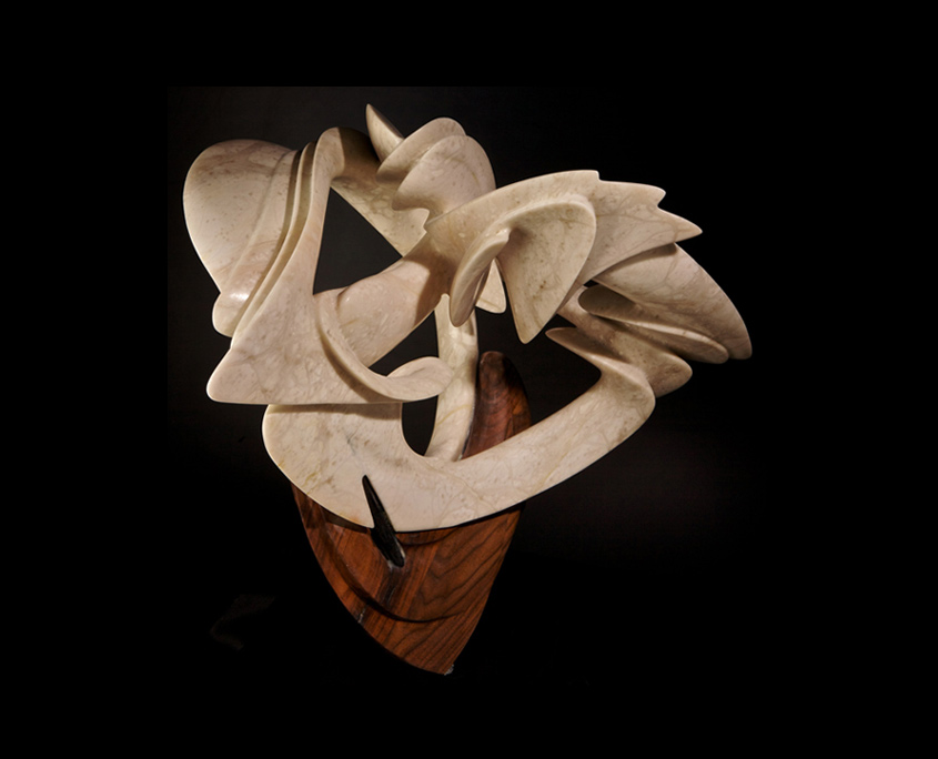 Mixed Media Sculpture - Vortex by Brian Grossman - 3rd view