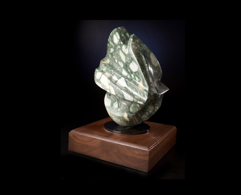 Sculpture - See Me, Feel Me, Touch Me-Side-View - Marble