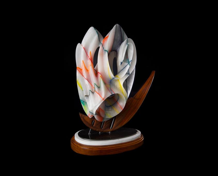 Mixed Media Sculpture - Celestial Navigation by Brian Grossman