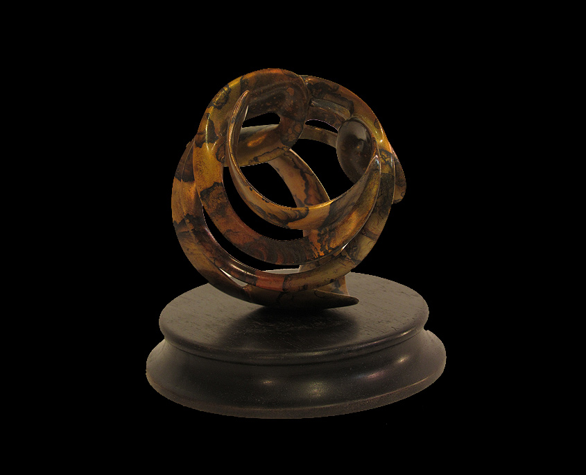 Bronze Sculpture - Looking for Approval I by Brian Grossman