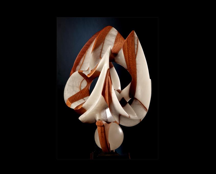 Mixed Media Sculpture - Prestidigitation by Brian Grossman - 2nd view