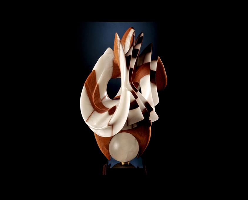 Mixed Media Sculpture - Prestidigitation by Brian Grossman