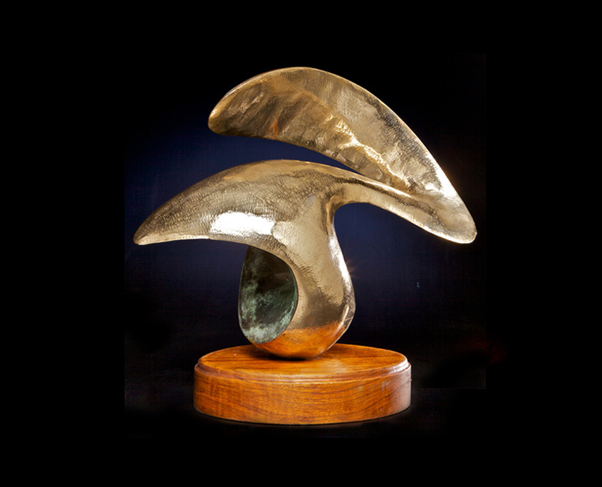 Bronze Sculpture - Second Chance by Brian Grossman