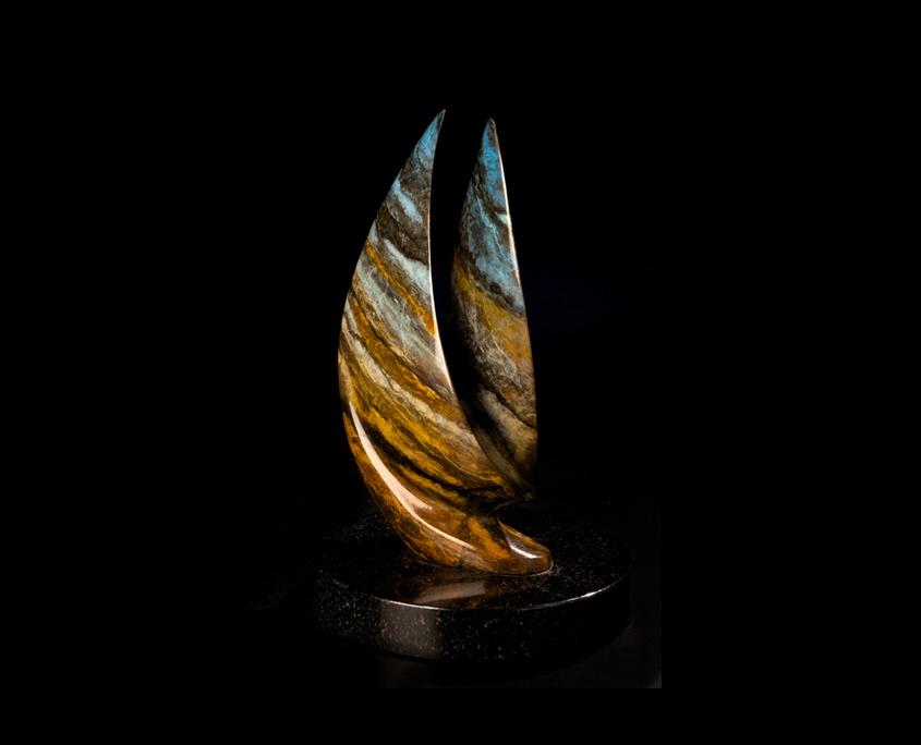 Bronze Sculpture - Trade Winds I by Brian Grossman