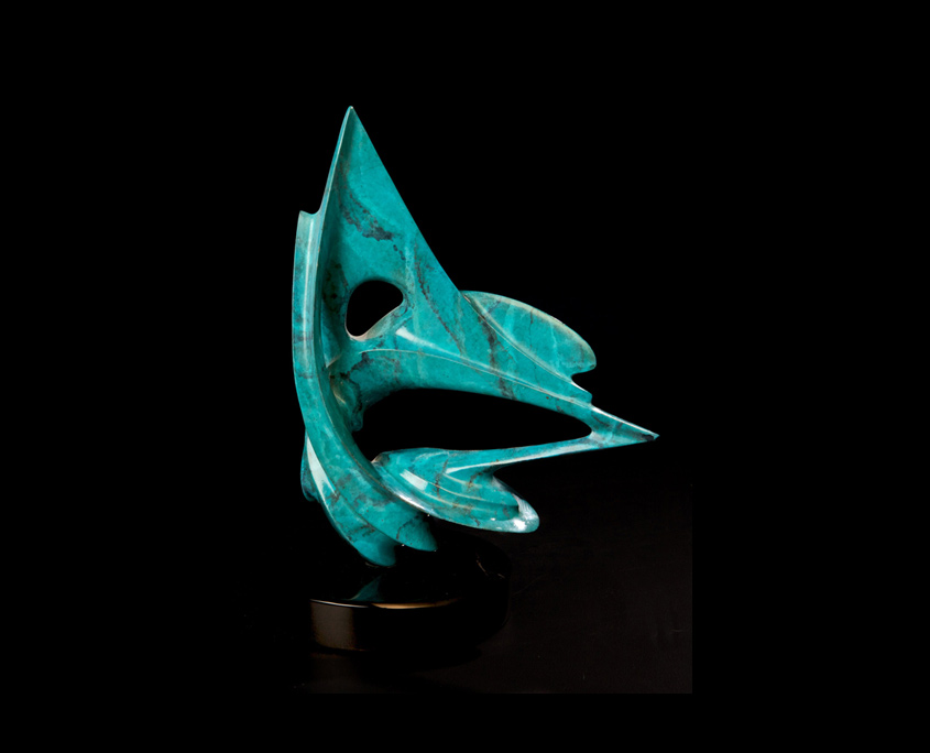 Bronze Sculpture - Trade Winds II by Brian Grossman