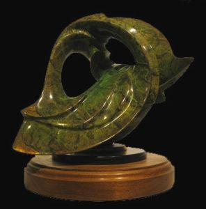 Bronze Sculpture - Internal Reflections